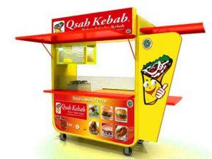 Rombong Qzah kebab