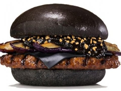 jual roti burger hitam