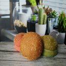 roti burger warna