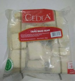 CEDEA TAHU IKAN 500G 11010009